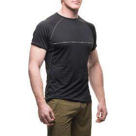 Houdini Fast Track Message T-shirt Heren, rock black